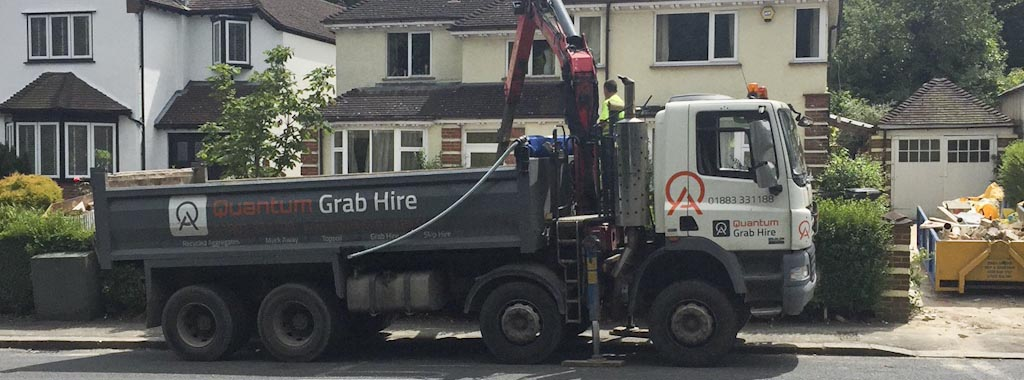 Skip and Grab Lorry Hire